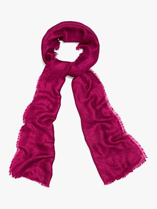 Phase Eight Verity Semi Sheer Scarf, Magenta