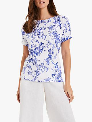 4b27f6a8352 Phase Eight Toile De Jouy T-Shirt