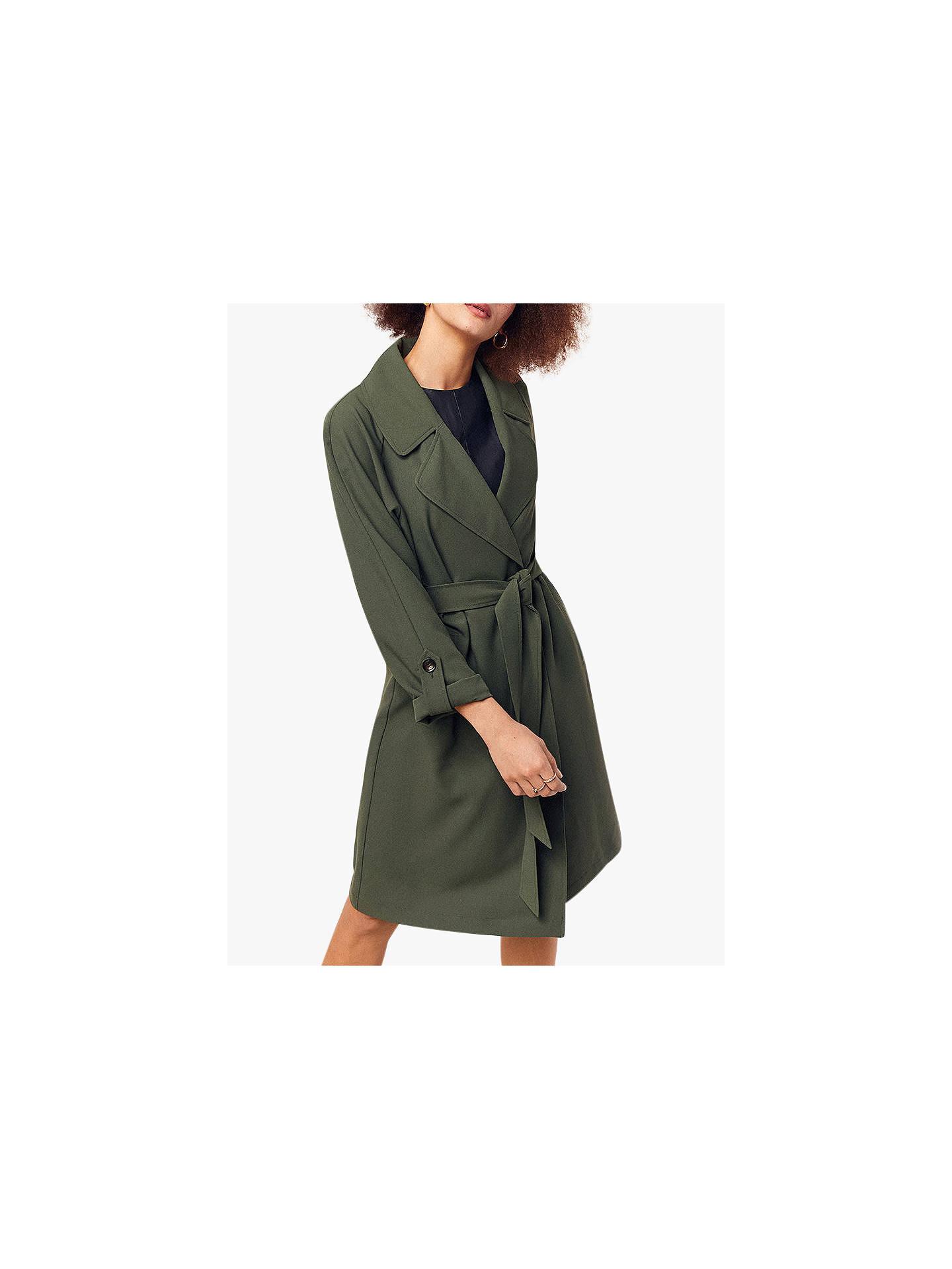 Oasis Duster Coat, Khaki by Oasis