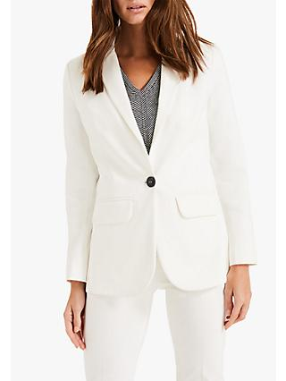 Phase Eight Ulrica Suit Jacket, White