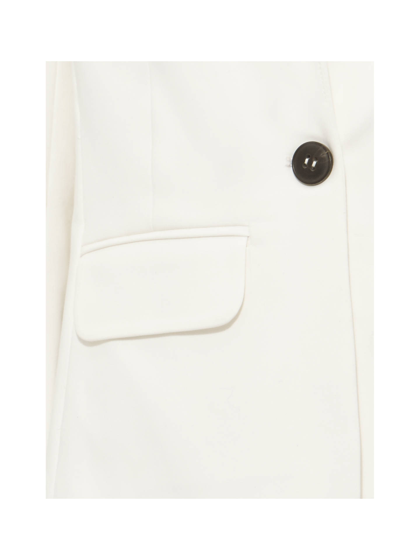 Buy Phase Eight Ulrica Suit Jacket, White, 8 Online at johnlewis.com