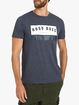 BOSS Faded Desert T-Shirt, Blue