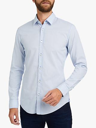 3cce4af1 BOSS Ronni Slim Fit Cotton Shirt, Blue