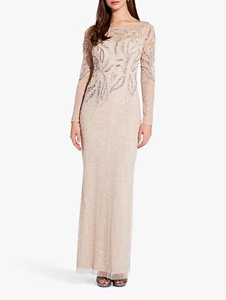 76250d7708379 Adrianna Papell Beaded Sheath Gown