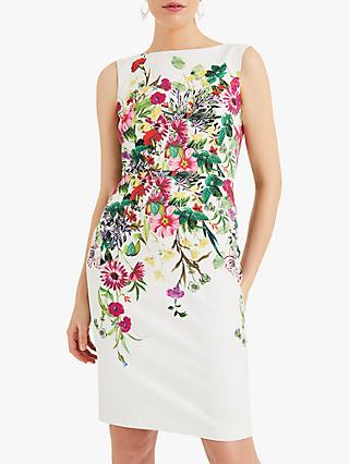 bbf714f37e56 Phase Eight Cilla Floral Print Tailored Dress