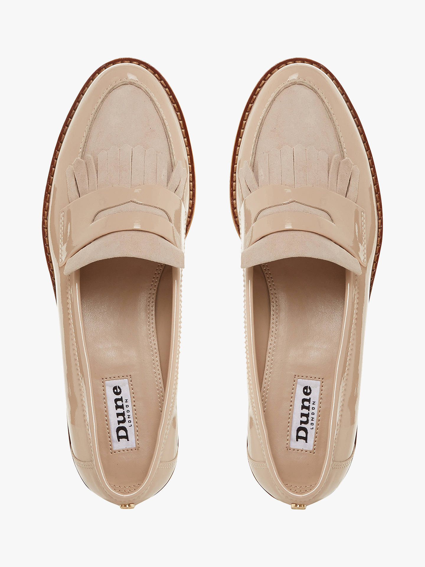 f2326a173de Dune Gracella Flatform Loafers at John Lewis   Partners