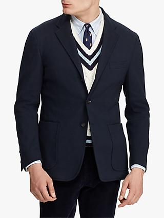Polo Ralph Lauren Morgan Knit Suit Jacket, Blue