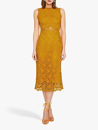 Warehouse Corded Lace Sleeveless Midi Dress b5914f0bc