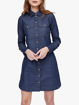 9b6d8b535c9 Warehouse Utility Denim Dress