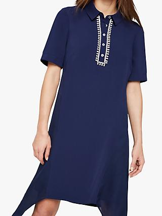 Damsel in a Dress Rosanna Shirt Dress, Navy