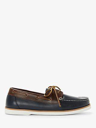 John Lewis & Partners Leather Boat Shoes