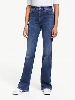 ab993d4a00f 7 For All Mankind Lisha Slim Illusion Jeans, Blue