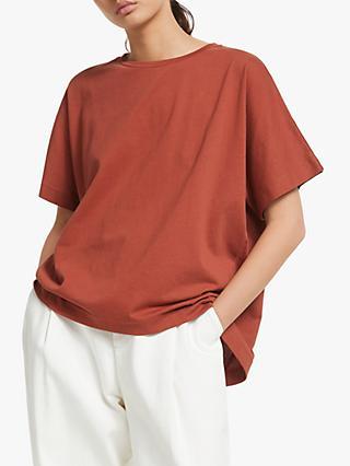 1abf915603240 Kin Gathered Back Fluted T-Shirt