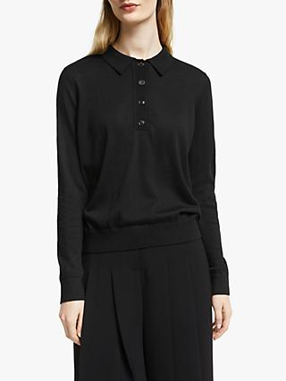 John Lewis & Partners Collared Sweater