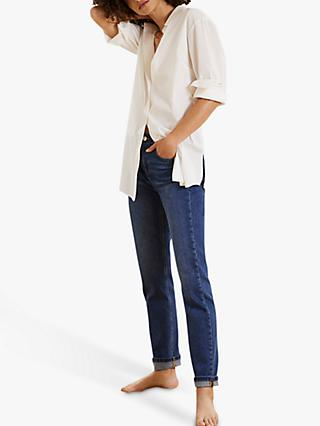 Mint Velvet Dakota Boyfriend Jeans, Blue