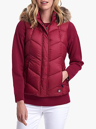 Barbour Downhall Quilted Hooded Gilet