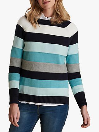8c5bd4f09 Barbour Overseas Stripe Cotton Jumper