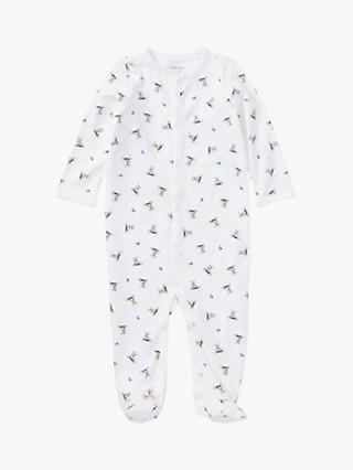 cfa7d3e5d Polo Ralph Lauren Baby Bear Sleepsuit