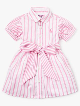 2499a75c8 Polo Ralph Lauren Baby Stripe Shirt Dress