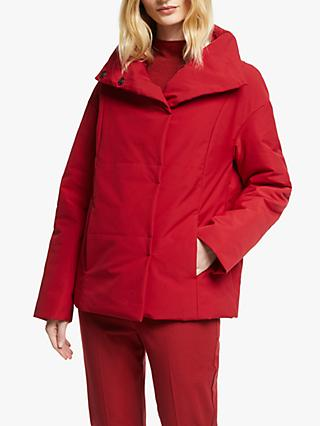 John Lewis & Partners Puffer Jacket, Rich Red