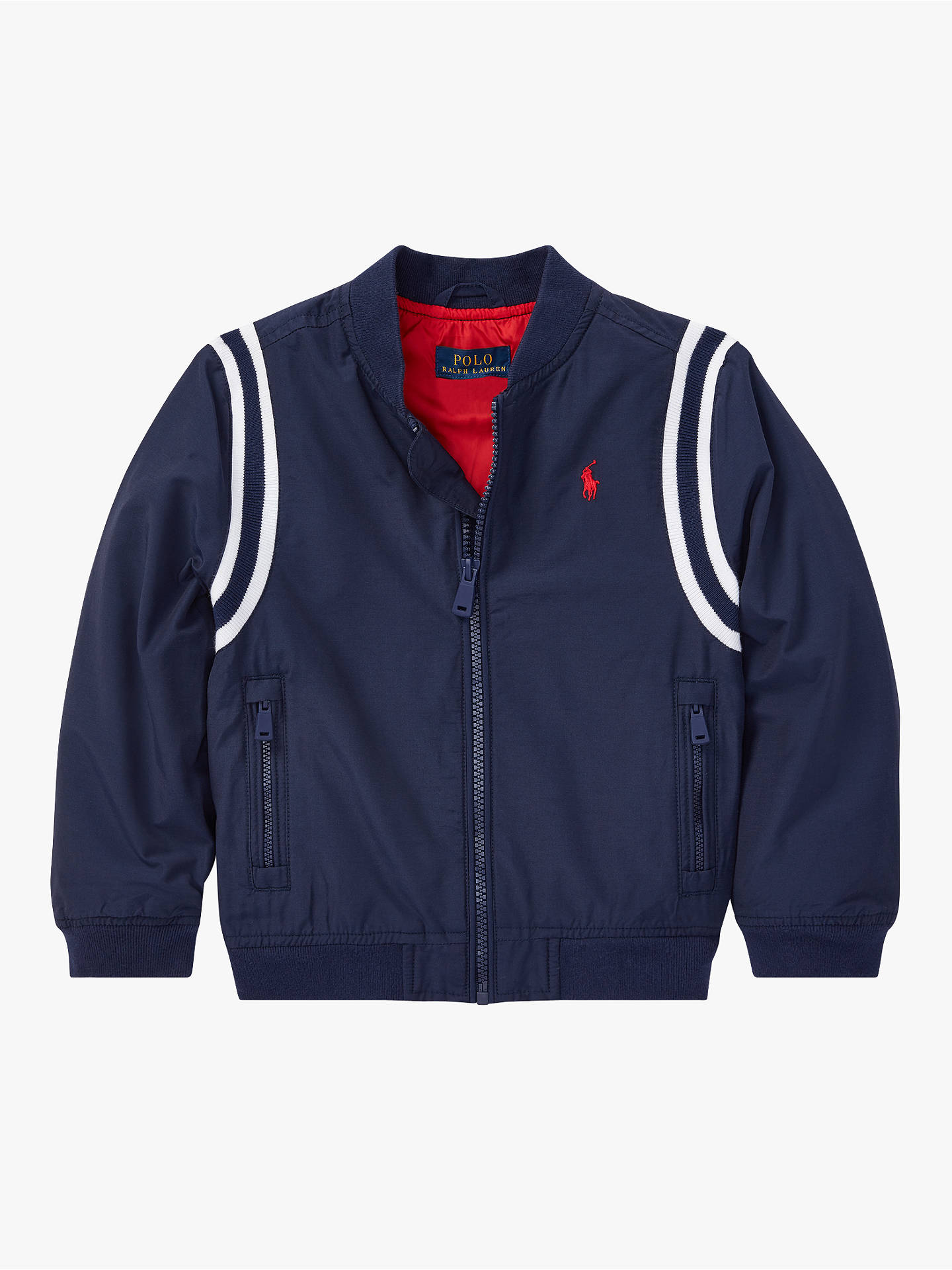 865ceb9dd Buy Polo Ralph Lauren Boys' Windbreaker Jacket, Navy, 2 years Online at  johnlewis ...