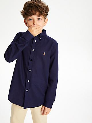 Polo Ralph Lauren Boys' Shirt, Navy