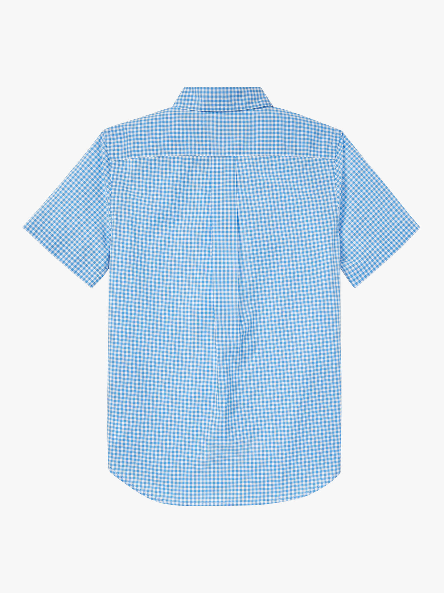 3f6d79b5e1 Polo Ralph Lauren Boys' Shirt, Blue at John Lewis & Partners