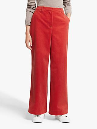 John Lewis & Partners Cord Wide Leg Trousers