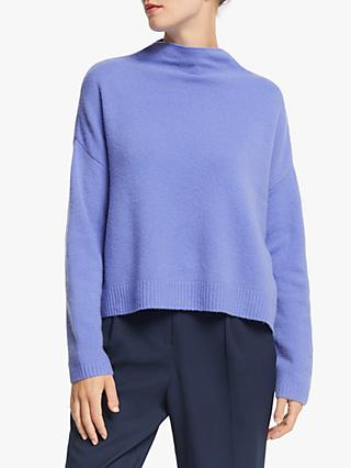 John Lewis & Partners Boxy Funnel Neck Sweatshirt