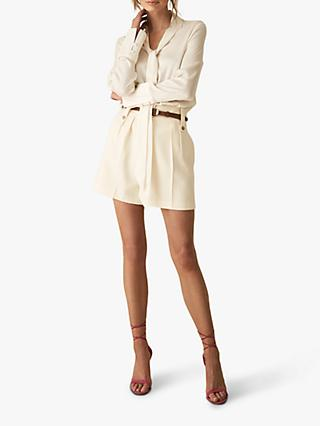 Reiss Lennox Tailored Shorts, Off White