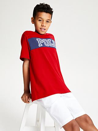 Polo Ralph Lauren Boys' Pieced Logo T-Shirt