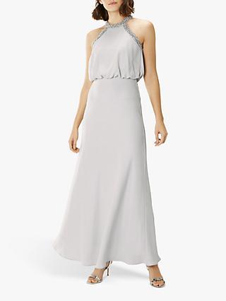 6af239b7c0c Coast Meghan Beaded Halterneck Maxi Dress