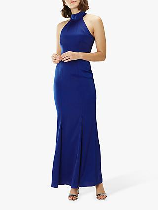 ff531b1c38 Coast Ariella Halterneck Tailored Maxi Dress