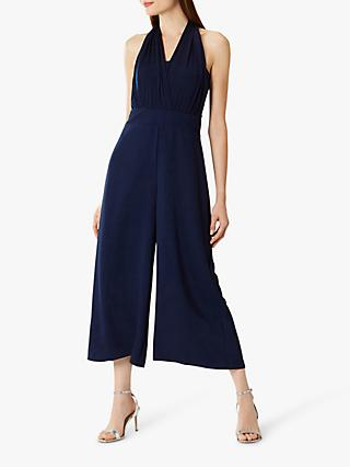 Coast Melissa Halter Neck Jumpsuit, Blue