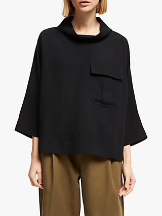 Kin Funnel Neck Utility Top