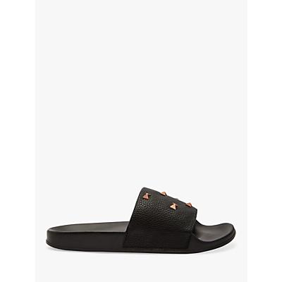 Ted Baker Sydeni Bow Slider Sandals, Black