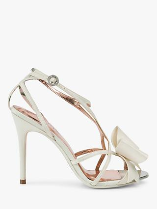 6507e06274288 Ted Baker Arayis Bow Stiletto Heel Sandals