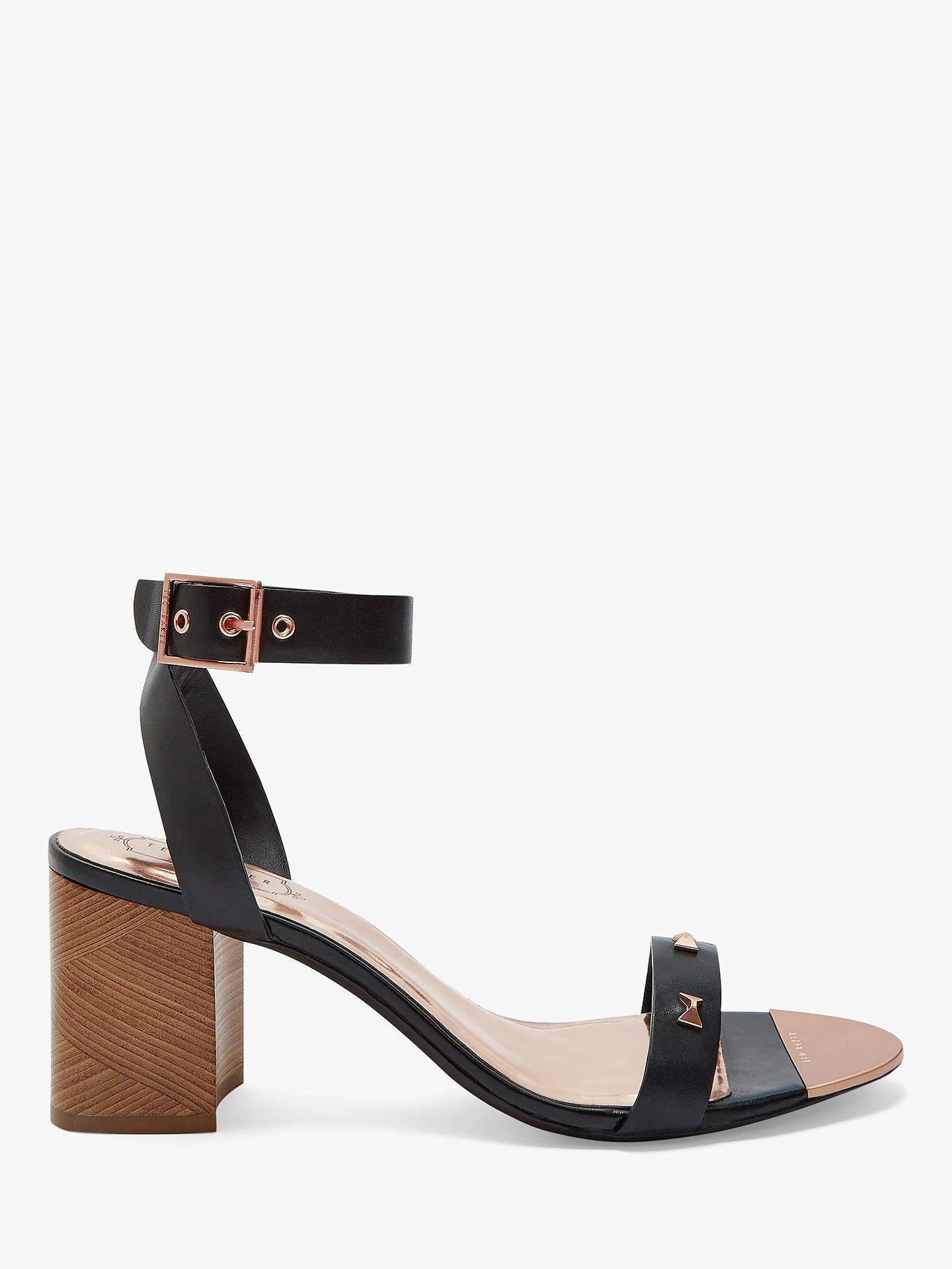 fd7cb7884cfe Ted Baker Biah Studded Block Heel Sandals at John Lewis   Partners