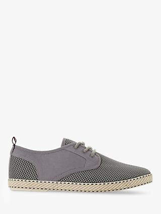 Dune Flask Canvas Espadrilles, Grey