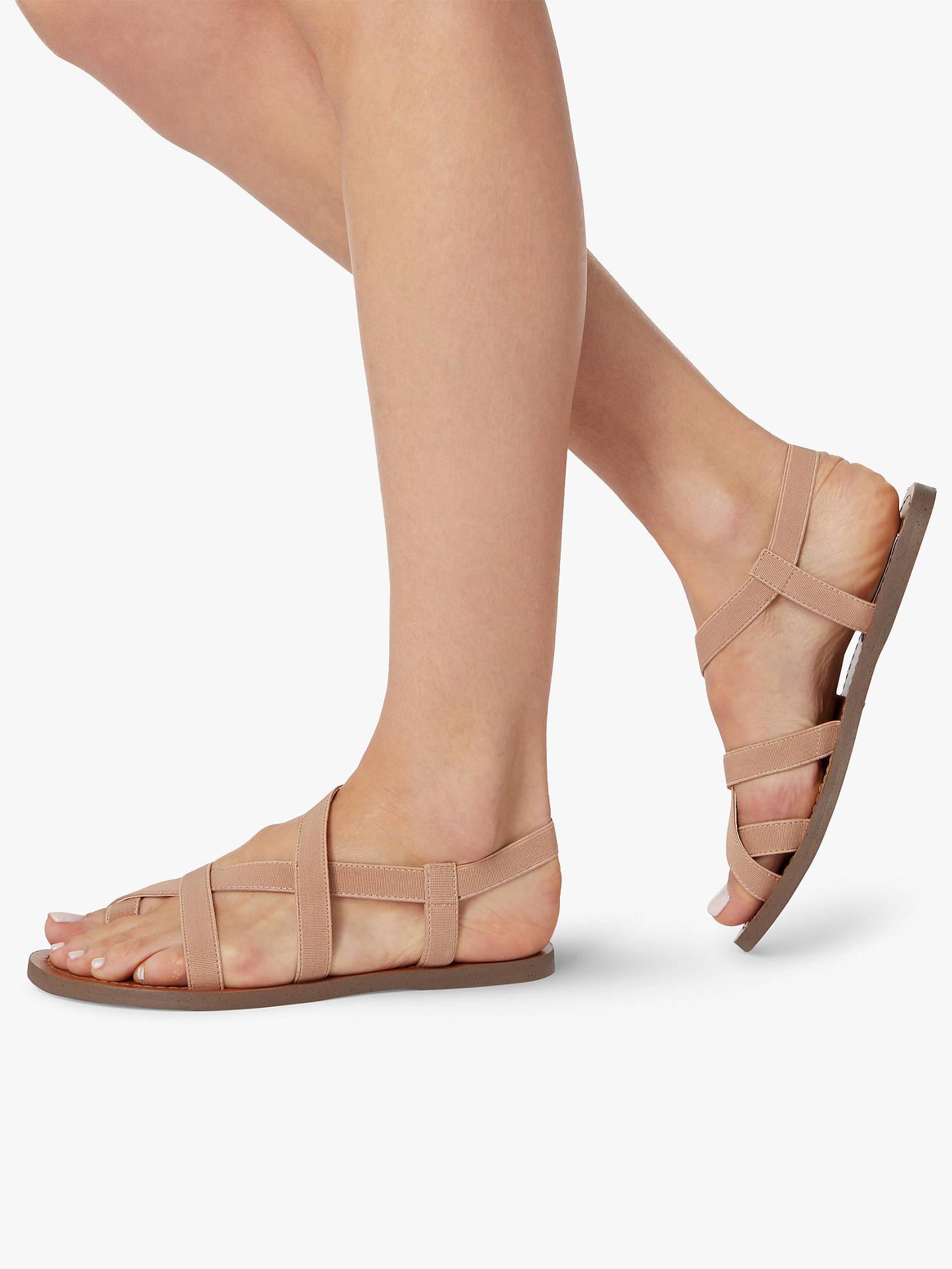 11e32dd70a2 Steve Madden Flexie Gladiator Flat Sandals, Tan