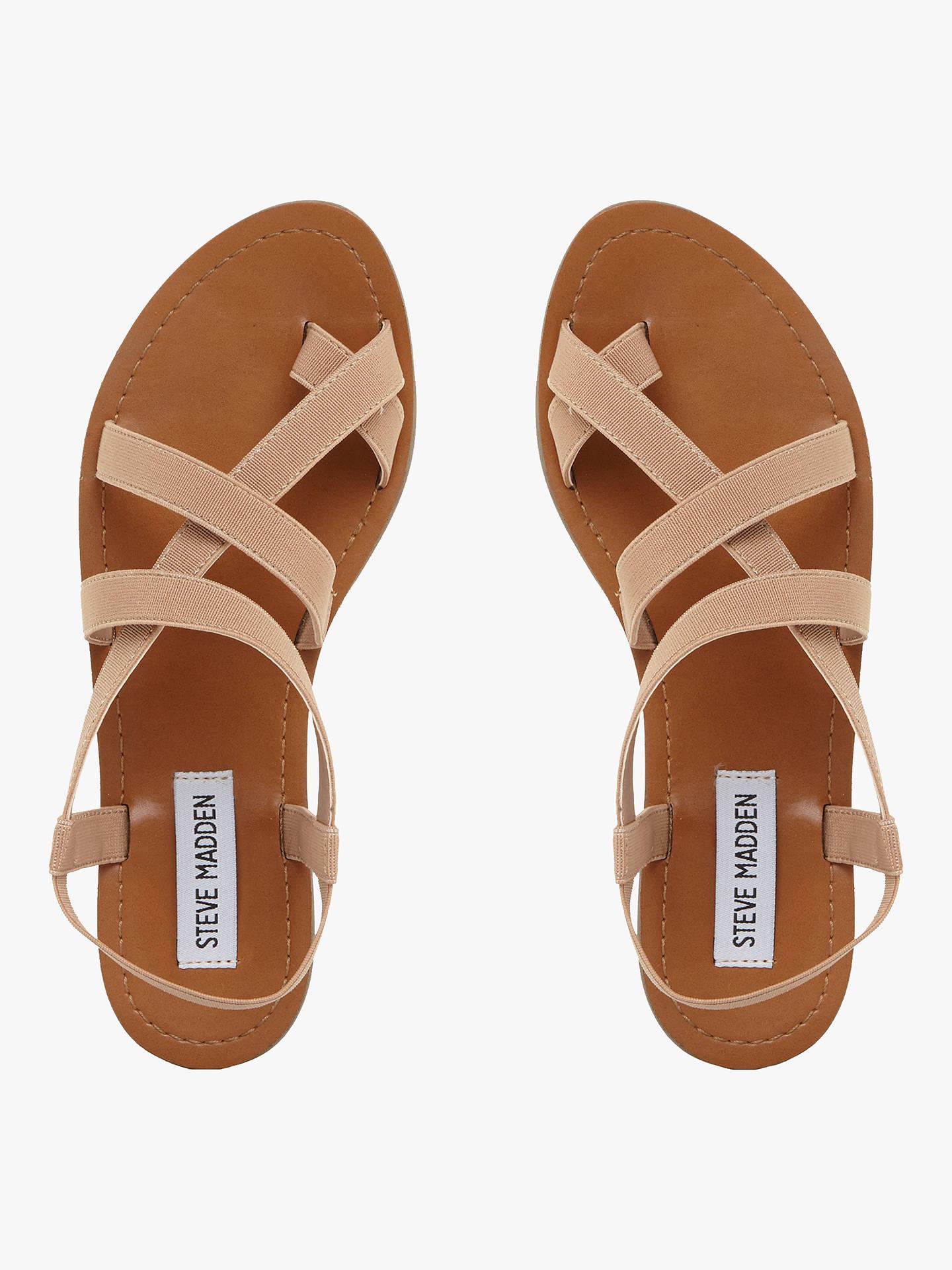 cc930f13118 Steve Madden Flexie Gladiator Flat Sandals, Tan
