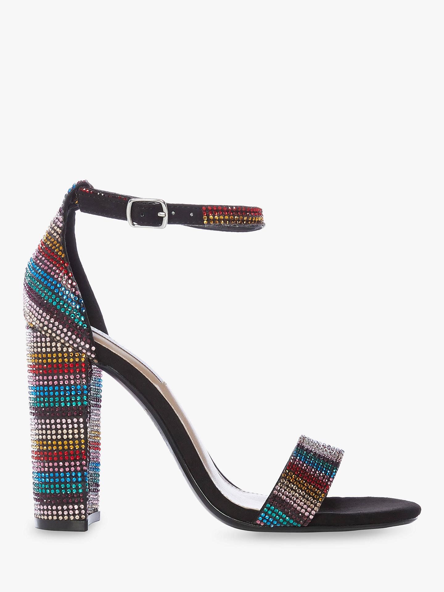 3715d412714 Steve Madden Carrson Two Part Block Heel Sandals, Multi