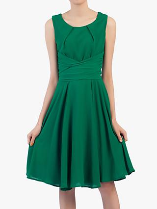 Jolie Moi Flared Belt Detail Dress