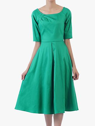 Jolie Moi Scoop Neck Swing Dress