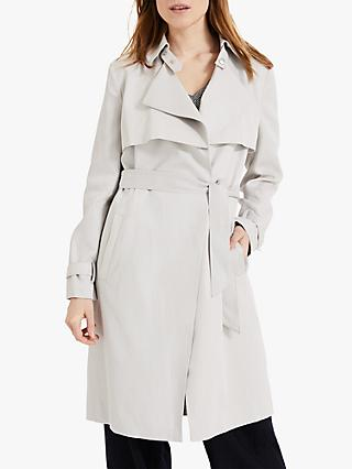 Phase Eight Soft Waterfall Wrap Coat, Grey
