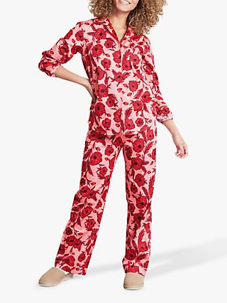 929db0e176a hush Poppy Cotton Pyjama Set