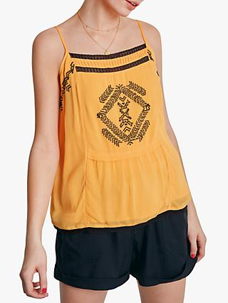 5ed2ea39b17388 hush Selene Embroidered Cami