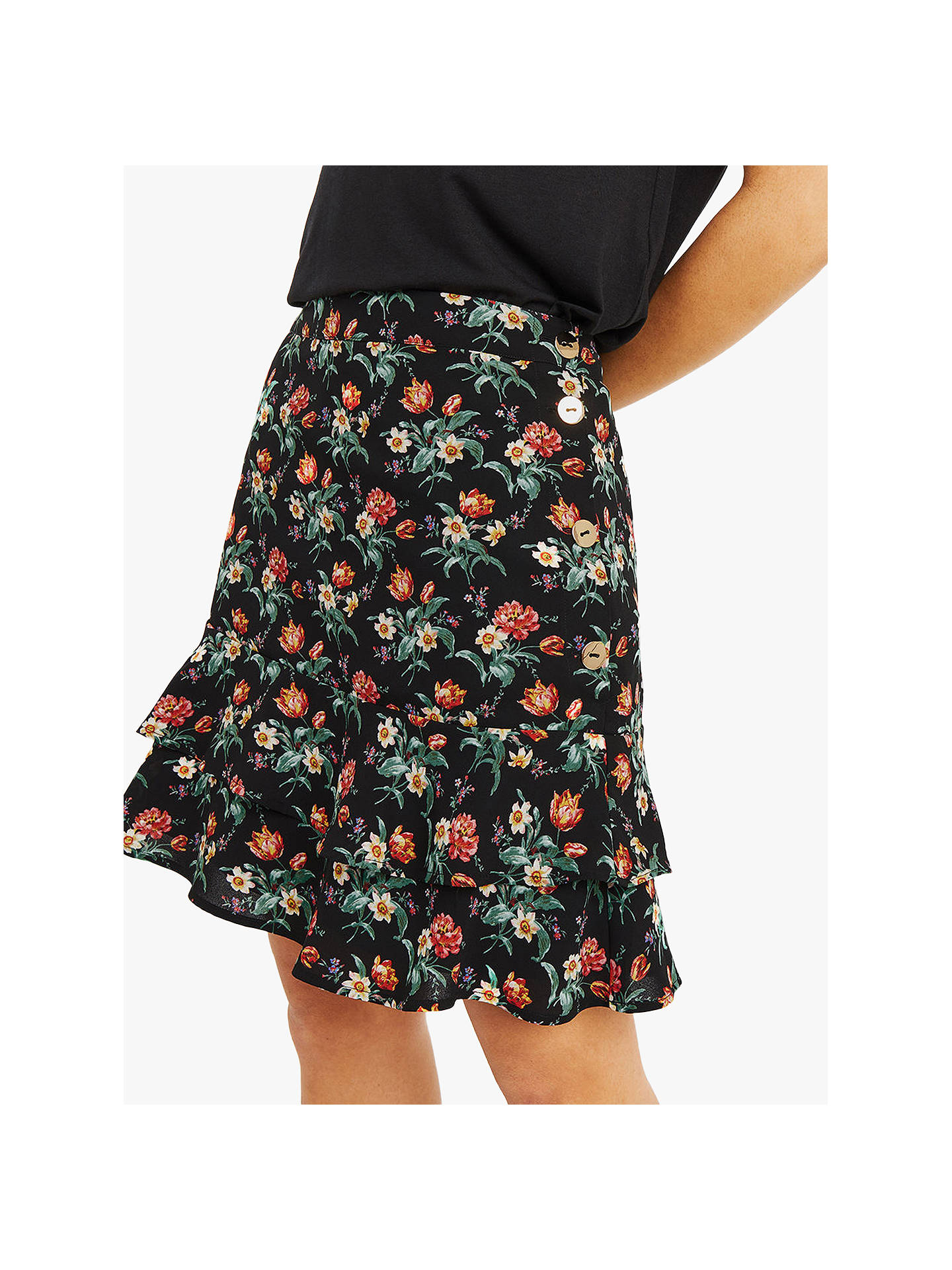 45f3fb5f9f8 Buy Oasis Willow Tiered Skirt