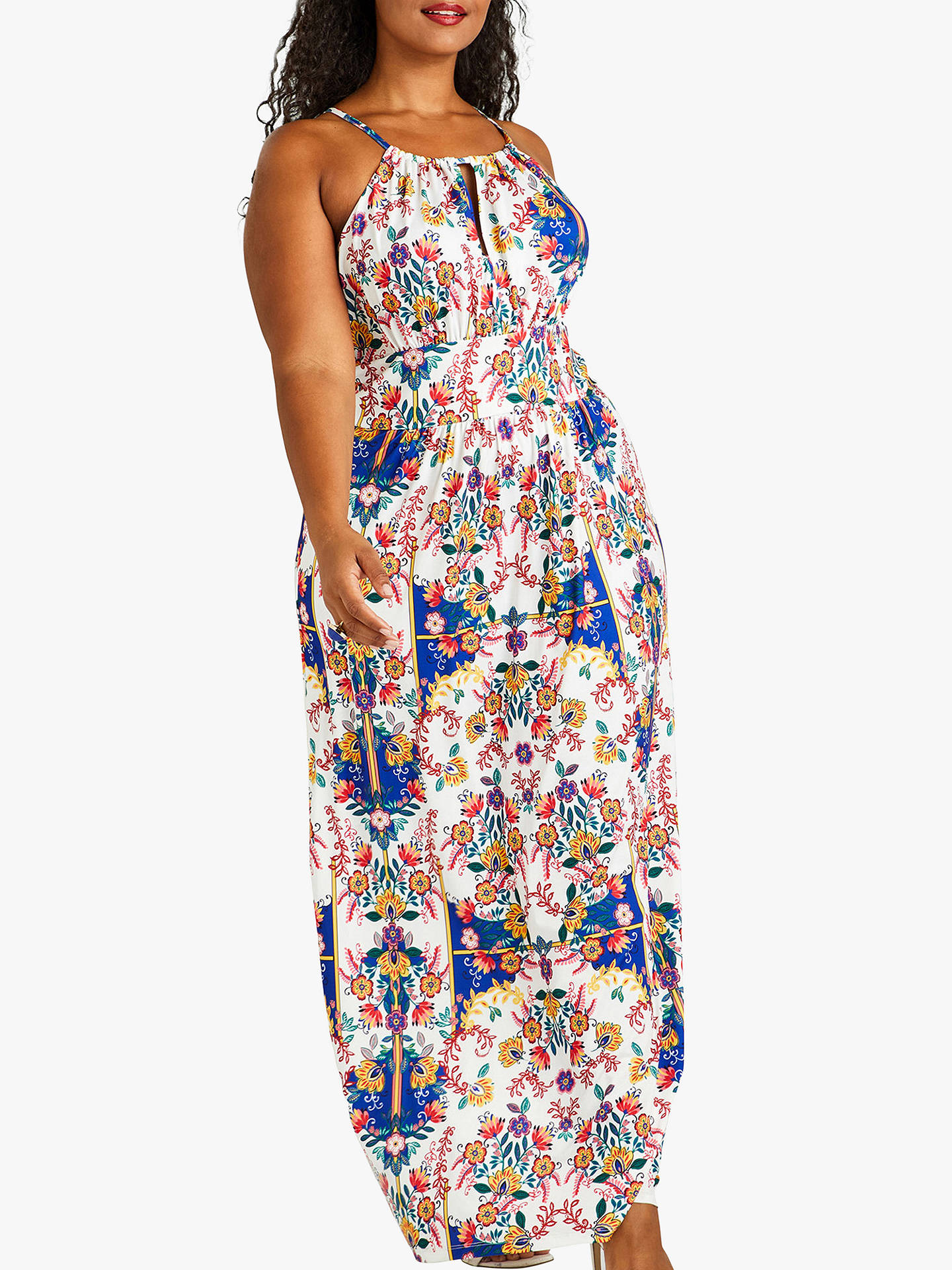 366eabecf5e Buy Yumi Curves Mexican Print Maxi Dress