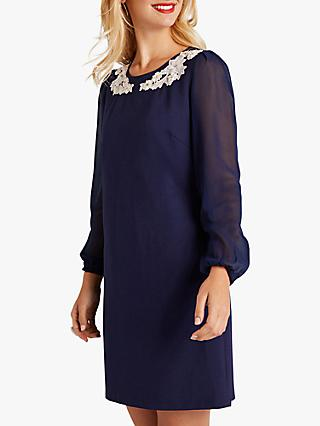 a6d9b58e6 Yumi Sheer Tunic Dress